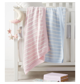 Mud Pie Mud Pie Stripe Blanket