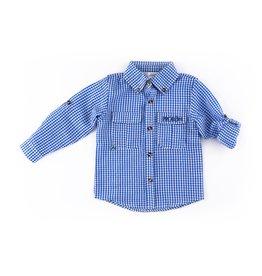 Prodoh Prodoh Mini Gingham Getaway Shirt