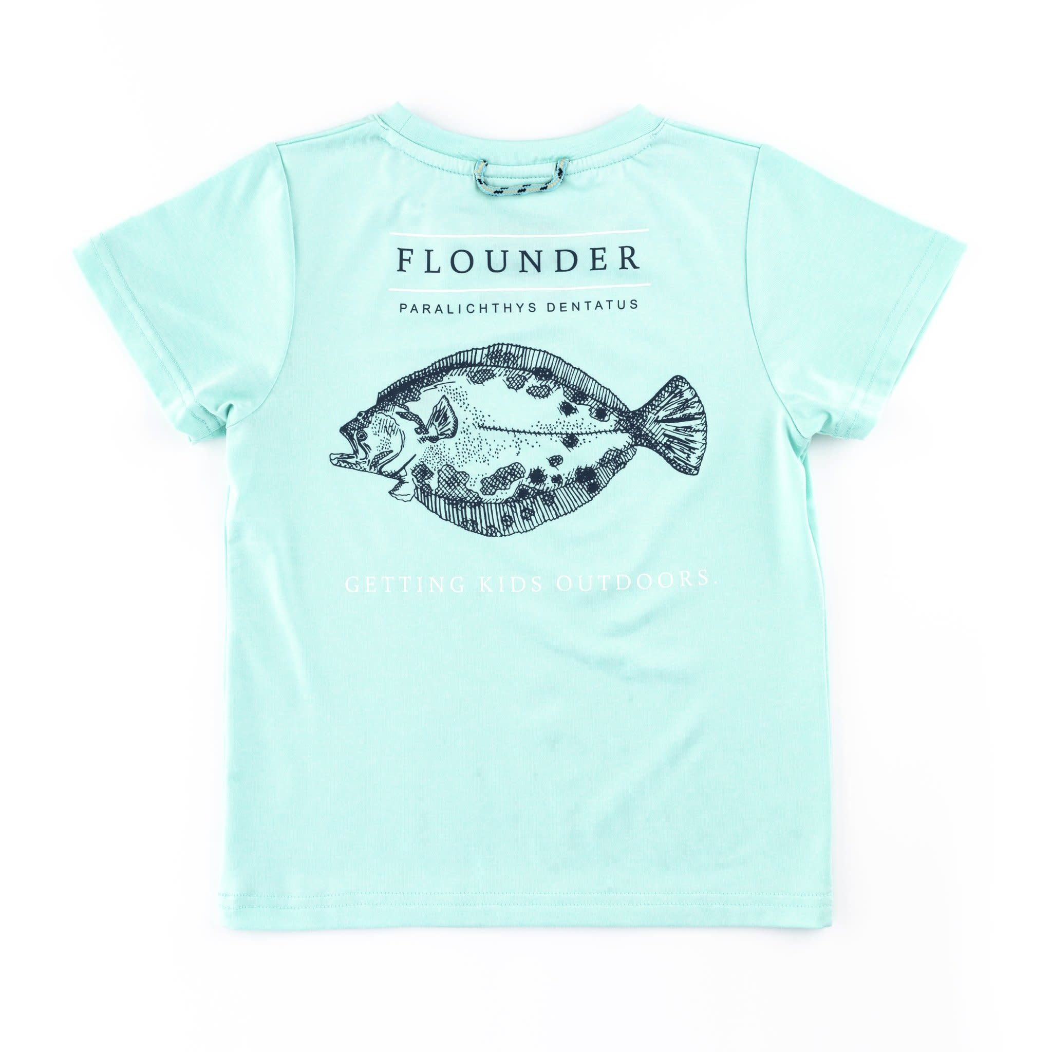 b2cee3128 Prodoh Flounder Pounder Performance Tee - Little Options