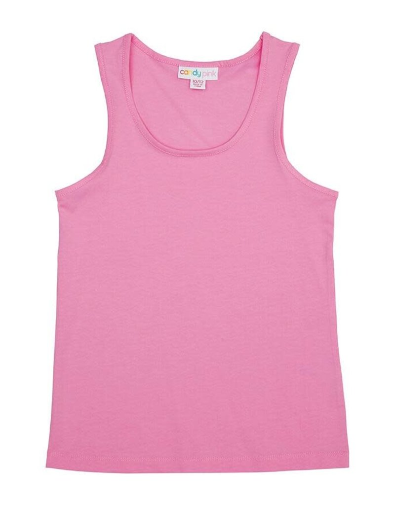 Candy Pink Candy Pink Knit Tank
