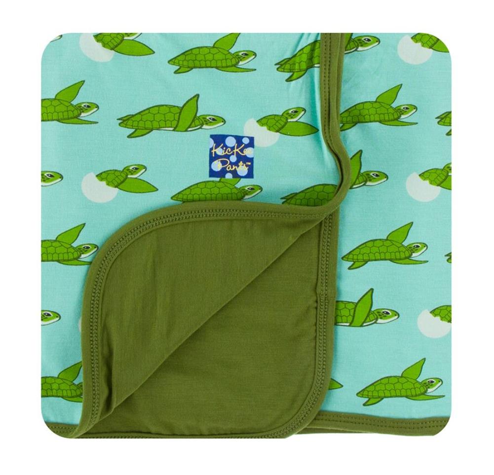 KicKee Pants Kickee Pants Print Stroller Blanket