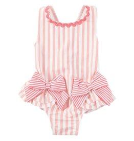Mud Pie Mud Pie Pink Bow Swimsuit