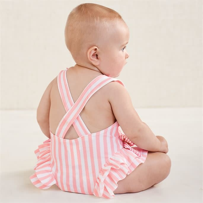Mud Pie Mud Pie Pink Bow Swimsuit