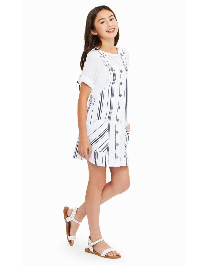 Habitual Girl Habitual Girl Joleen Stripe Printed Jumper