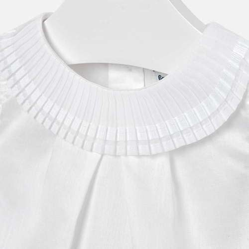 Mayoral Mayoral Blouse Pleated Neckline