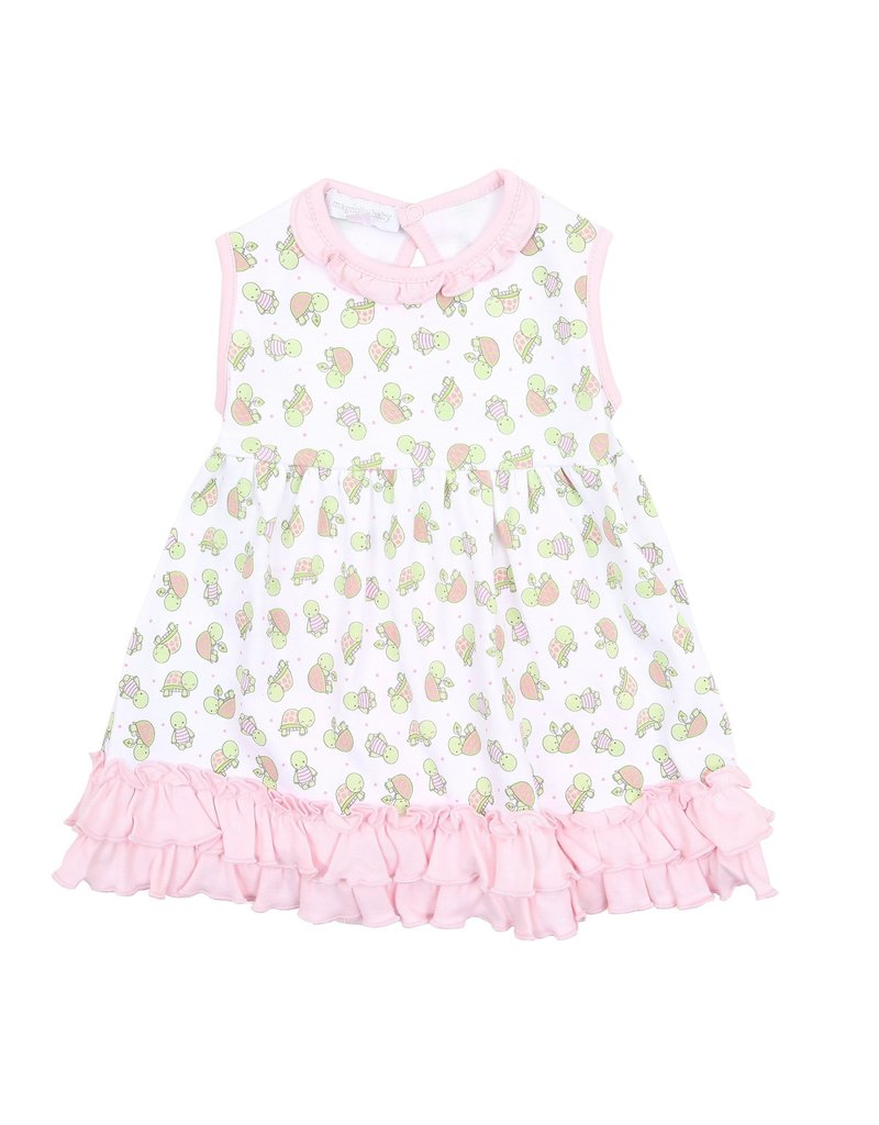 Magnolia Baby Magnolia Baby Happy Turtles Dress Set