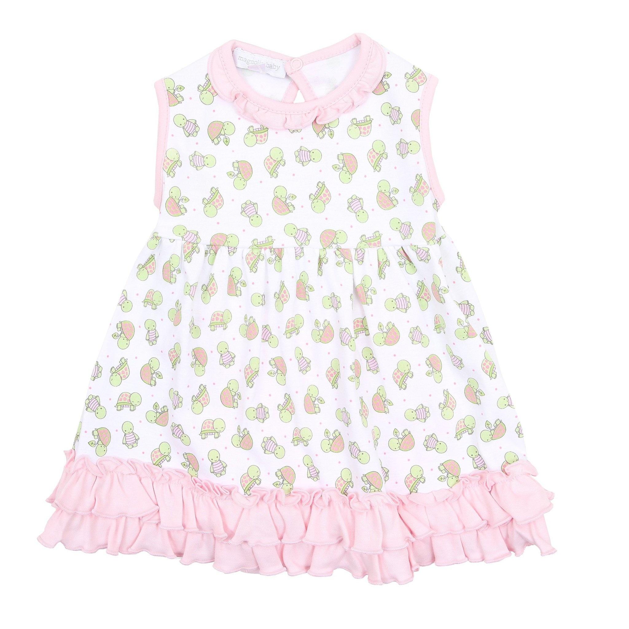 Magnolia Baby Magnolia Baby Happy Turtles Dress Set