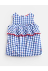 Joules Joules Alice Cherry Gingham Woven Top