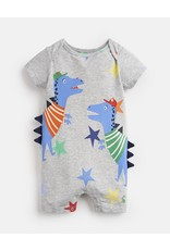 Joules Joules Patch Dino Jersey Babygrow