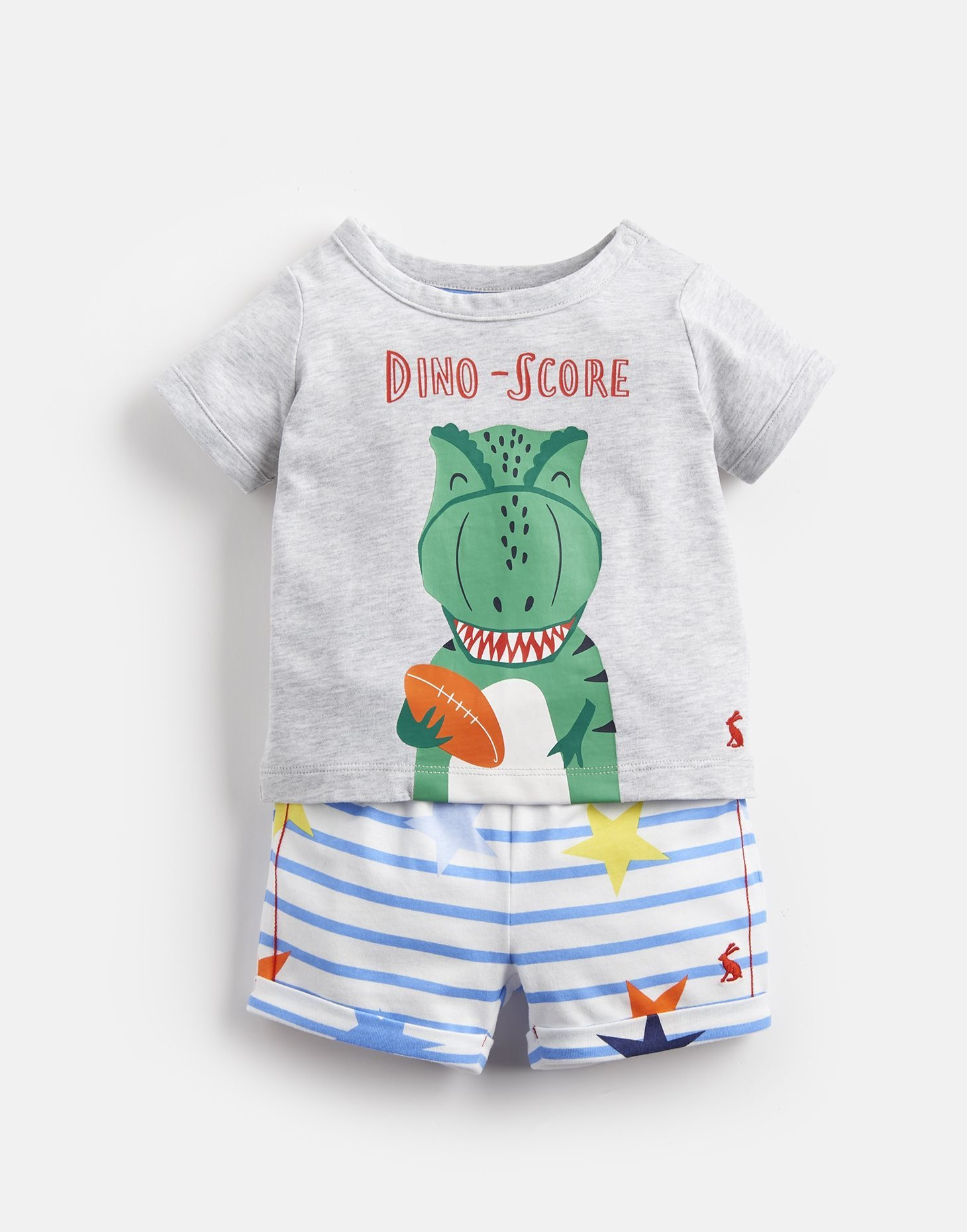 Joules Joules Barnacle T Shirt and Short Set