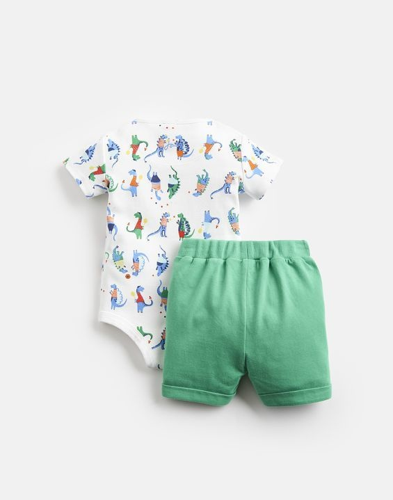 Joules Joules Joey Bodysuit and Short Set