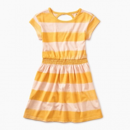 Tea Collection Tea Collection Painted Stripe Keyhole Dress