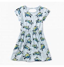 Tea Collection Tea Collection Turtle Twirl Keyhole Dress