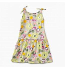 Tea Collection Tea Collection Fruit Floral Tie Shoulder Dress