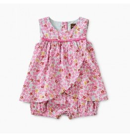 Tea Collection Tea Collection Ditsy Romper Dress