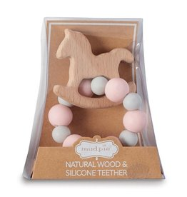Mud Pie Mud Pie Horse Wood Teether