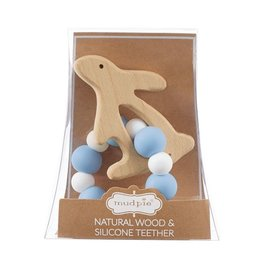 Mud Pie Mud Pie Bunny Wood Teether