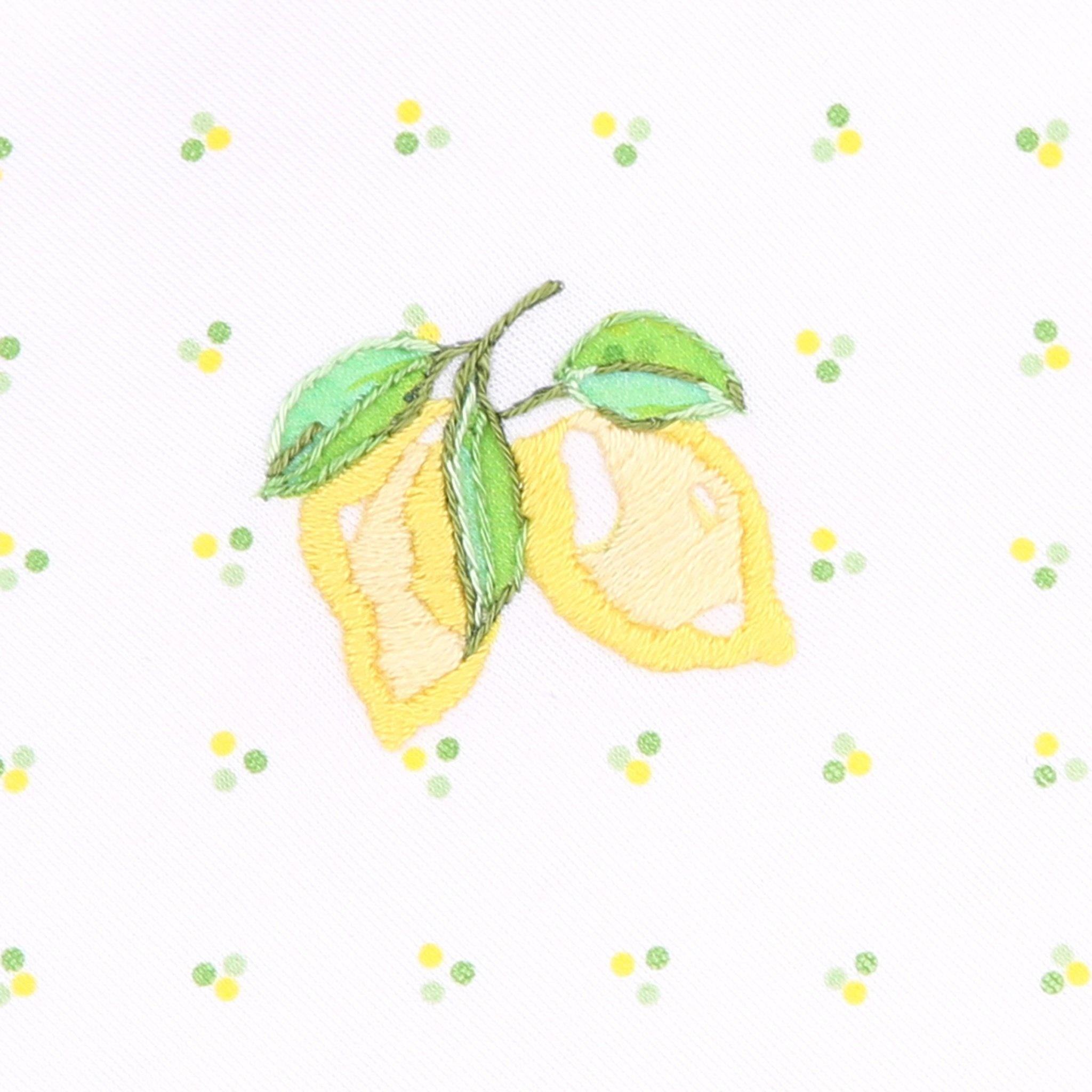 Magnolia Baby Magnolia Baby Make Lemonade Collared Bubble