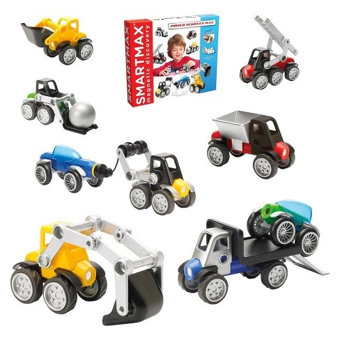 SmartMax SmartMax Power Vehicles Playset 25pc