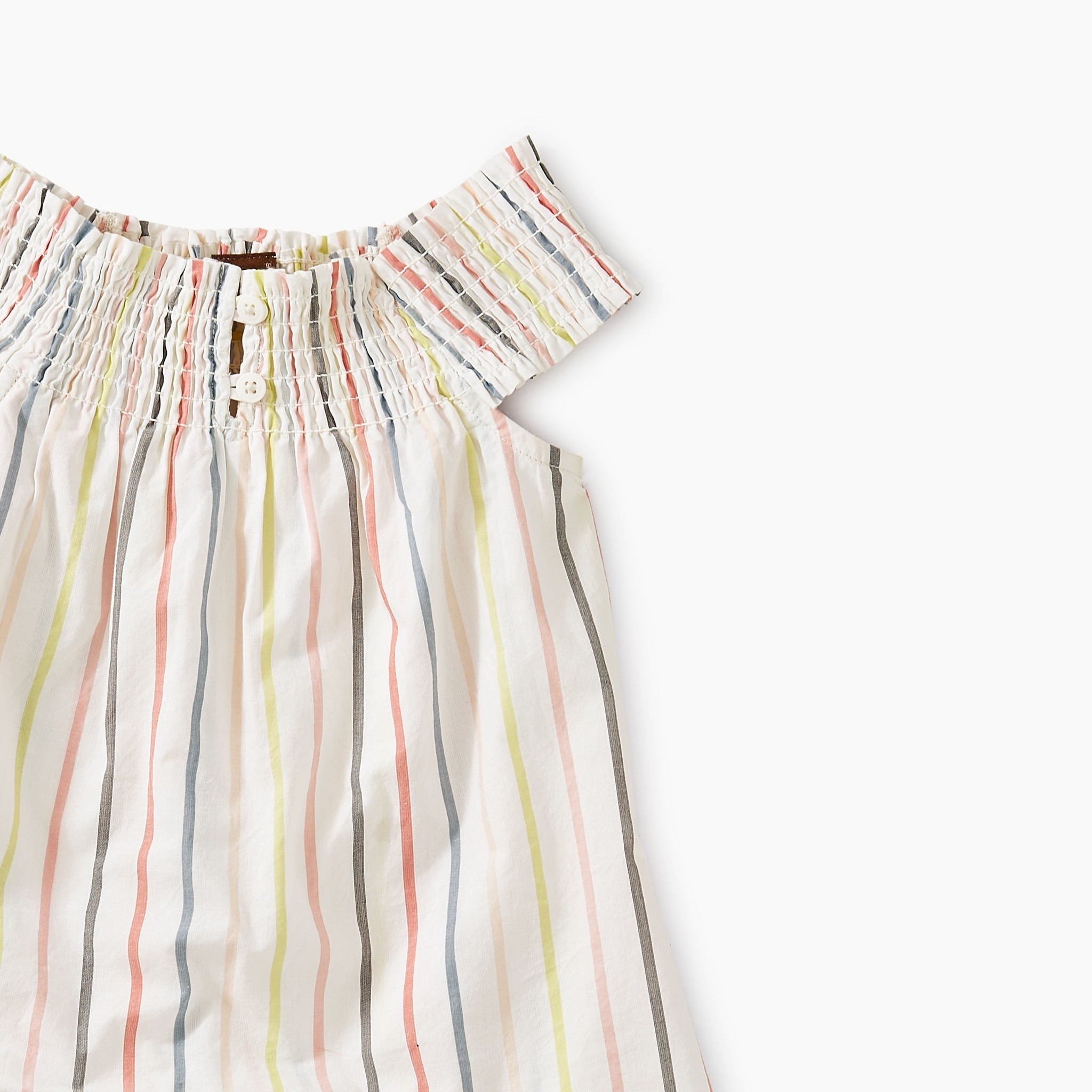 Tea Collection Tea Collection Stripe Smocked Romper