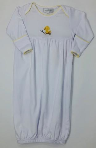 Magnolia Baby Magnolia Baby Tiny Ducky Gathered Gown