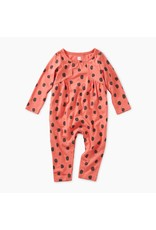 Tea Collection Tea Collection Leopard Spots Paneled Romper