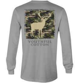 Youthful Cotton Youthful Cotton Camo Buck L/S Tee