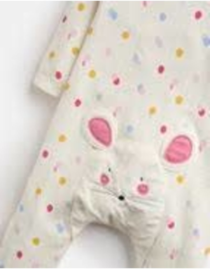 Joules Joules Giggle Babygrow and Hat Set