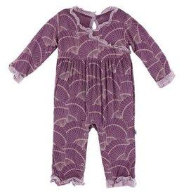 KicKee Pants KicKee Pants Long Sleeve Kimono Ruffle Romper