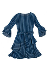 Habitual Girl Habitual Girl Serena Stripe Tencel Dress
