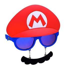 SunStaches Sun-Staches Nintendo Sunglasses