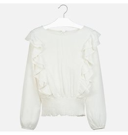 Mayoral Mayoral Ruffled Blouse