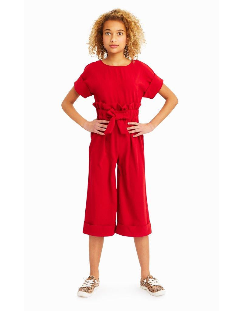Habitual Girl Habitual Girl Elle Crepe Paper Bag Jumpsuit