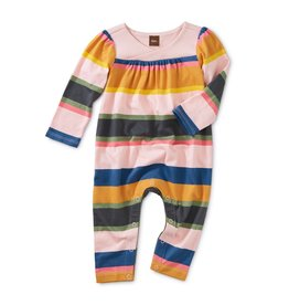 Tea Collection Tea Collection Striped Wrap Neck Romper