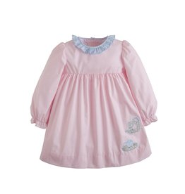 Little English Little English Applique Caroline Dress