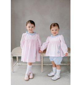 Little English Little English Applique Caroline Dress