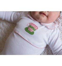 Little English Little English Teacup Crochet Playsuit