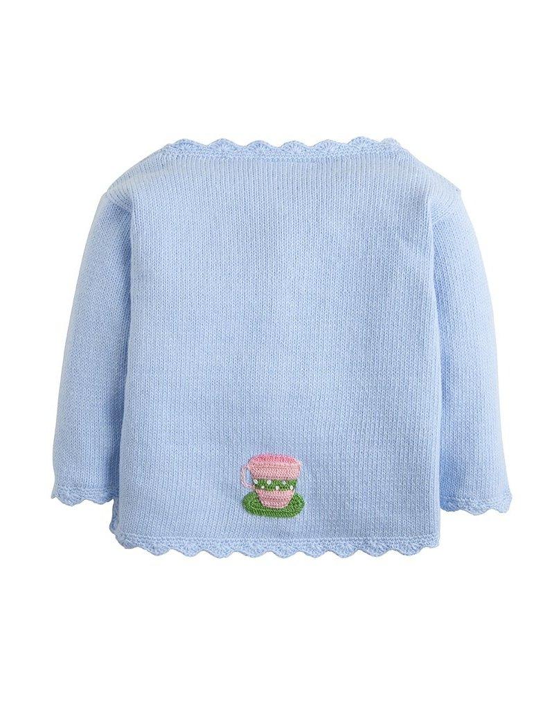 Little English Little English Crochet Teacup Sweater