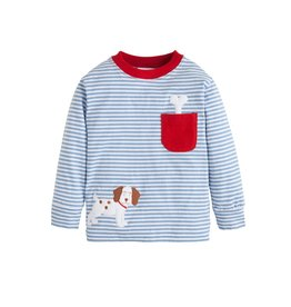 Little English Little English Applique Tee