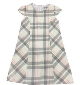 Maria Casero Maria Casero Shady Plaid Dress Pink