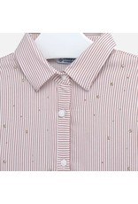 Mayoral Mayoral Striped Blouse