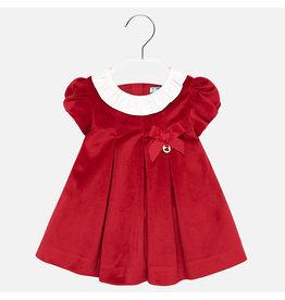 Mayoral Mayoral Velvet Dress Red