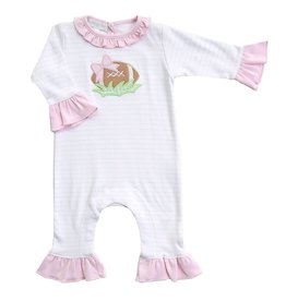 Magnolia Baby Magnolia Baby Football Fever Ruffle Playsuit