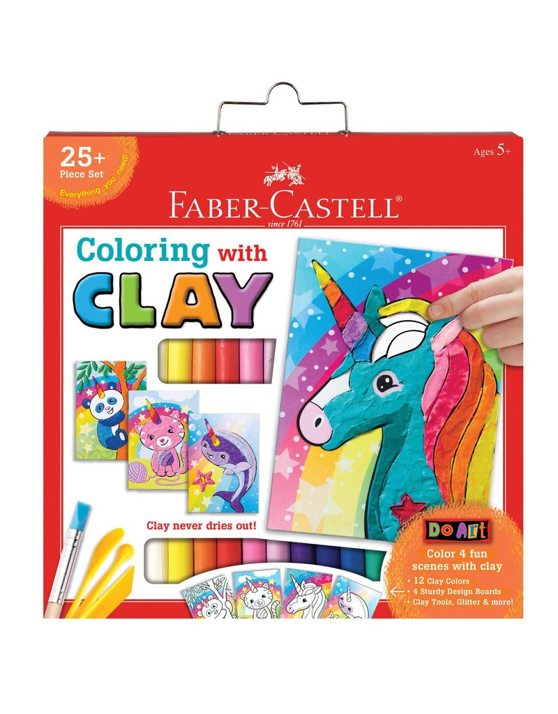 Faber-Castell Faber Castell Coloring With Clay
