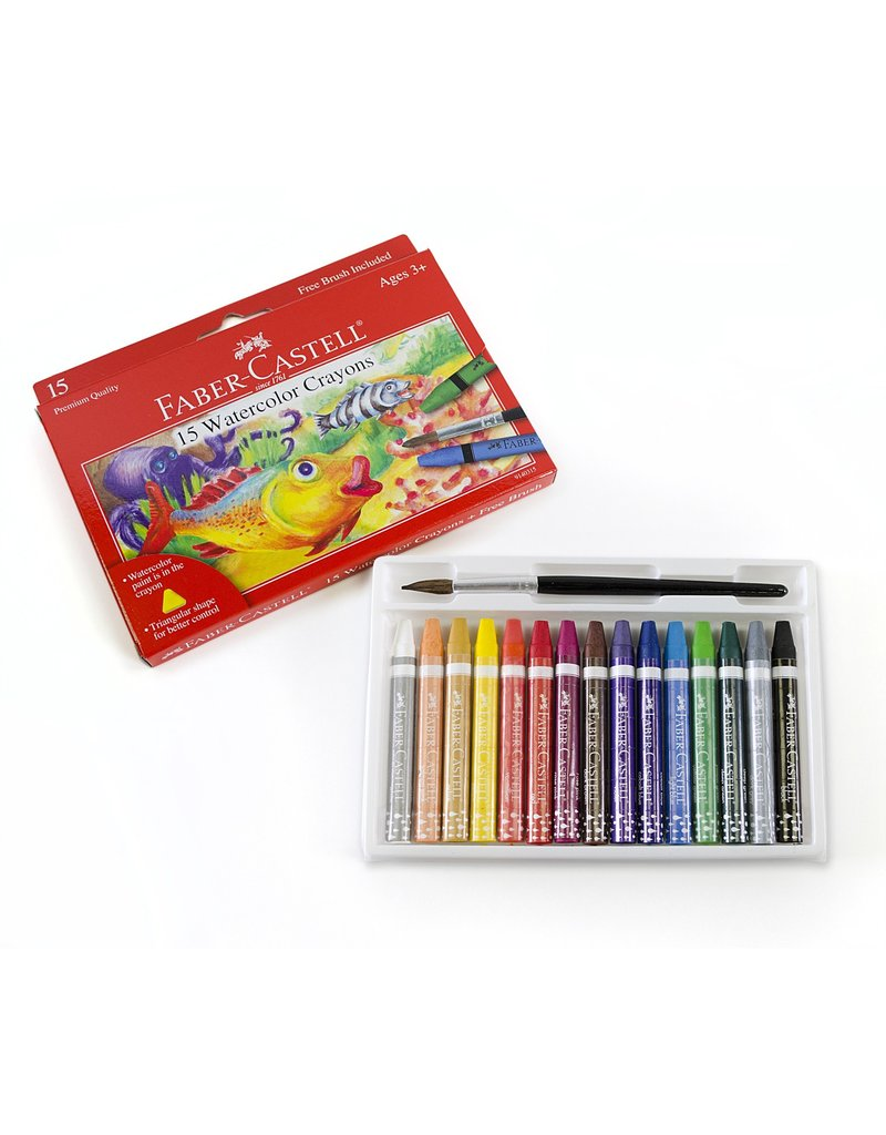 Faber-Castell Faber Castell Watercolor Crayons