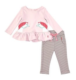 Joules Joules Olivia Applique Top and Pant Set