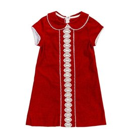 Bailey Boys Bailey Boys Liza Dress Red Cord
