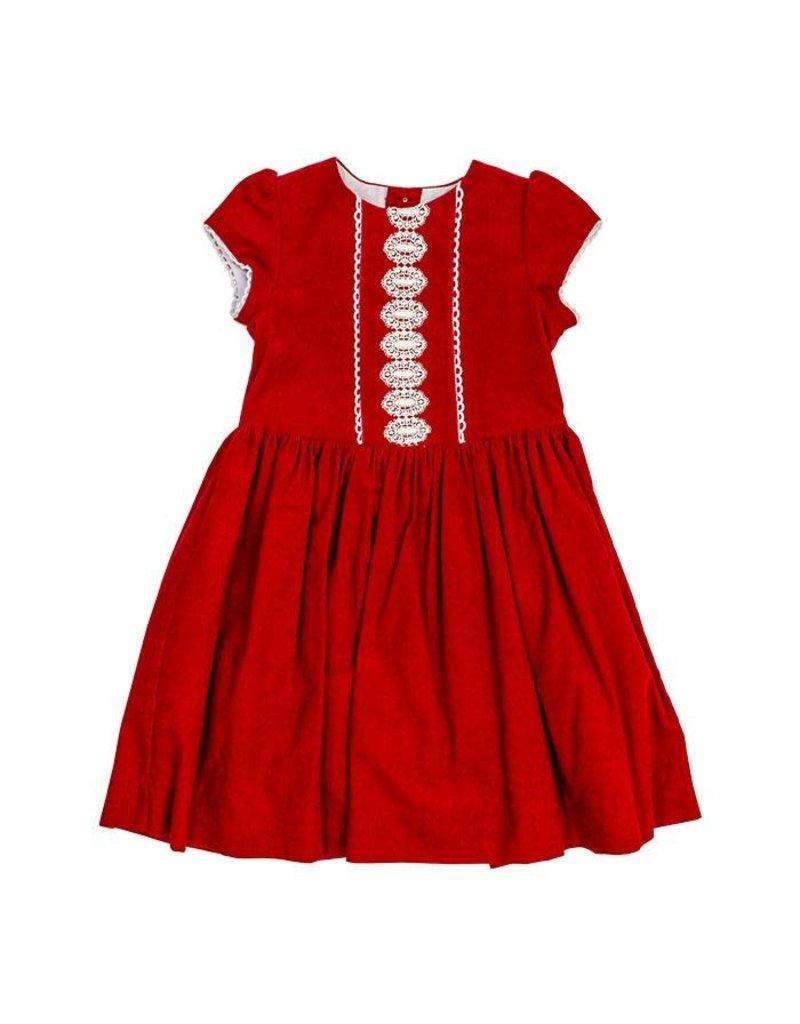 Bailey Boys Bailey Boys Red Cord Dress