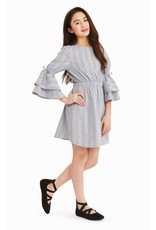Habitual Girl Habitual Girl Brielle Multi Stripe Dress