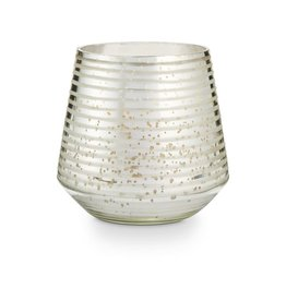 Illume Illume Balsam and Cedar Large Etched Glass Candle